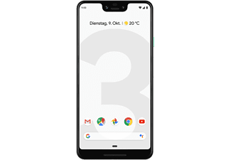 GOOGLE Pixel 3 XL, Smartphone, 64 GB, Clearly White