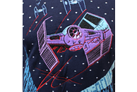 NUMSKULL Star Wars Tie Fighter: Battle of Yavin Pullover XL Pullover, Blau