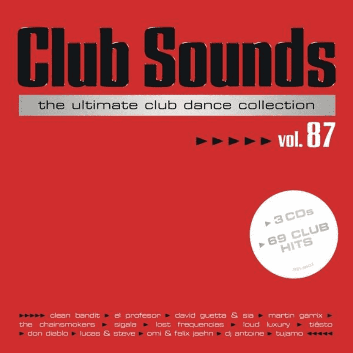 VARIOUS - CLUB SOUNDS 87 - (CD)