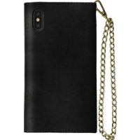 IDEAL OF SWEDEN Mayfair Clutch , Bookcover, Apple, iPhone Xs Max, Schwarz