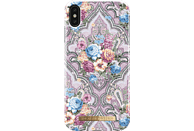 IDEAL OF SWEDEN Fashion Case Backcover Apple iPhone XS Max Kunststoff, Mikrofaser-Futter Romantic Paisley