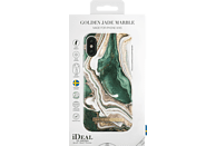 IDEAL OF SWEDEN Fashion Case , Backcover, Apple, iPhone Xs, Kunststoff, Mikrofaser-Futter, Golden Jade