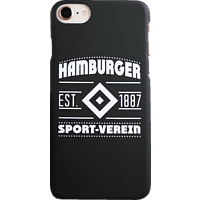 ICANDY HSV Wappen , Backcover, Apple, iPhone 8/7/6, Mehrfarbig