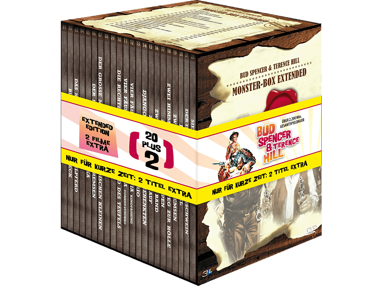 BUD & TERENCE MONSTERBOX EXTENDED [DVD]