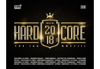 VARIOUS - Hardcore Top 100-Best Of 2018 - (CD)