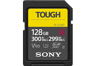 SONY Speicherkarte SDHC 128GB SF-G Tough Series R300/W299, UHS-II U3, Class 10