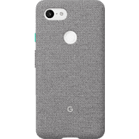 GOOGLE Fabric Backcover Google Pixel 3XL Polycarbonate (PC) und Thermoplastische Elastomere (TPE) Fog