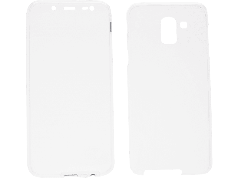 V-DESIGN V-LV 082 Full Cover Samsung Galaxy J6 Thermoplastisches Polyurethan Transparent