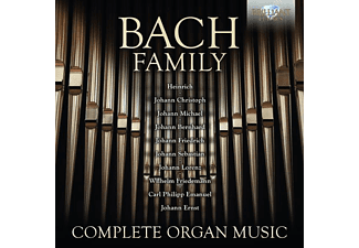 /scandali Molardi/turri - Bach Family:Complete Organ Music - (CD)