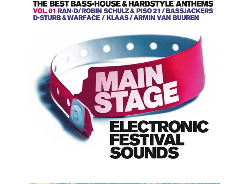 VARIOUS - Main Stage Vol.1 Electronic Festival Sounds [CD]