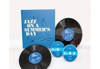 "VARIOUS - Jazz On A Summer's Day (2x10""+DVD+CD Box Set) - (EP (analog))"