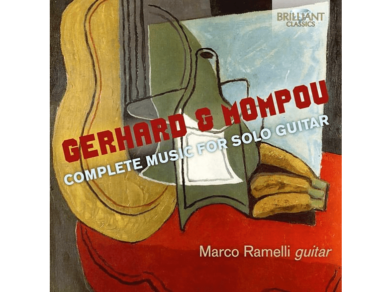Marco Ramelli - Gerhard/Mompou:Complete Music For Solo Guitar [CD]