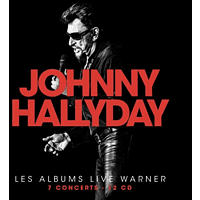 Johnny Hallyday - Johnny Hallyday-Les albums Live Warner [CD]