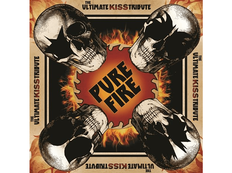 VARIOUS - Pure Fire-The Ultimate Kiss Tribute [CD]