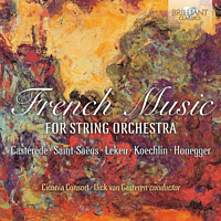 Dick Van Ciconia Consort/gasteren - French Music-For String Orchestra [CD]