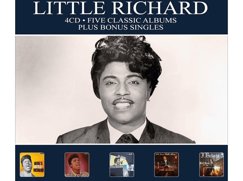 Little Richard - 5 Classic Albums Plus [CD]