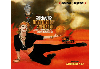 Jean London So/martinon - The Age Of Gold Ballet Suite - (CD)
