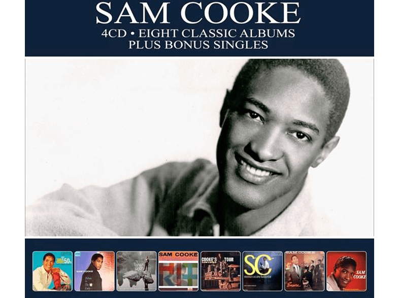 Sam Cooke - 8 Classic Albums Plus [CD]