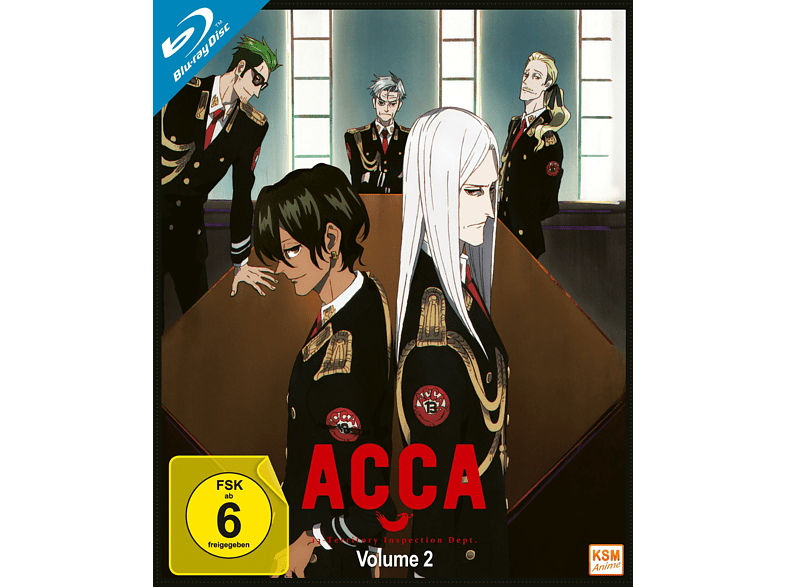 ACCA - 13 Territory Inspection Dept. - Volume 2 [Blu-ray]