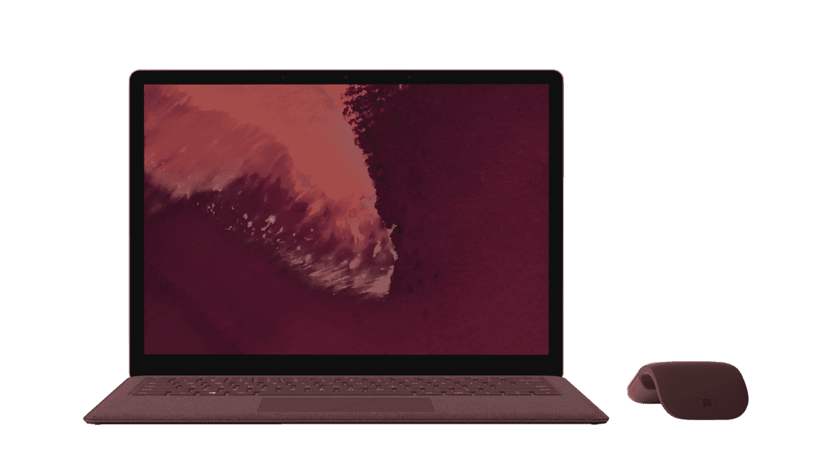 MICROSOFT  Surface Laptop 2 Notebook mit Core™ i5, 8 GB RAM, 256 GB & Intel® UHD-Grafik 620 in Bordeaux Rot | 00889842386257