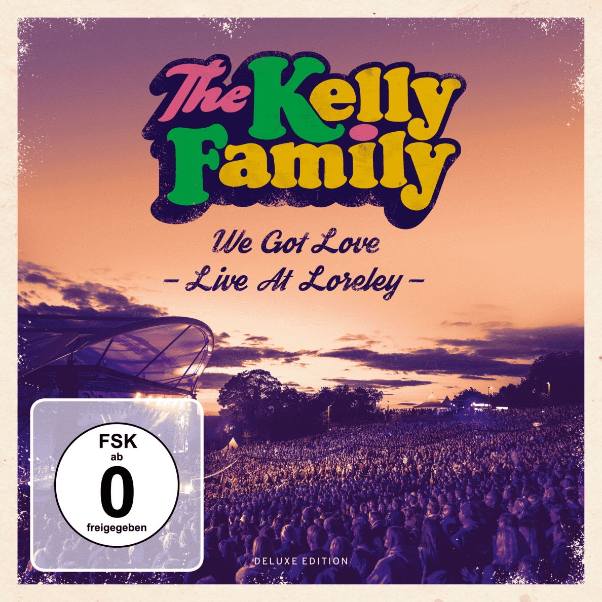 The Kelly Family - We Got Love Live Loreley (Deluxe Edition) - (CD + DVD Video)