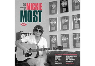 VARIOUS - THE POP GENIUS OF MICKIE MOST - (CD)