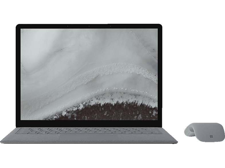 MICROSOFT  Surface Laptop 2, Notebook, Core™ i5 Prozessor, 8 GB RAM, 256 GB SSD, Intel® UHD-Grafik 620, Platin Grau | 00889842384857