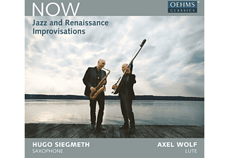 WOLF, AXEL - SIEGMETH, HUGO - Now-Jazz and Renaissance Imp - (CD)