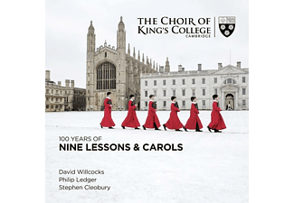 Kings College Cambridge David Willc - 100 Years of Nine Lessons & Carols - (CD)