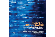 Hannu Finnish Radio Symphony Orchestra - Lintu - Sinfonie 1 & 4/Jeux véntitiens [CD]
