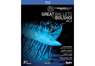 State Academic Bolshoi Theater Of Moscow - La Bayadère/Marco Spada/Schwanensee/+ - (Blu-ray)