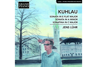 Jens Lühr - Kuhlau/Sonata in E Flat Major - (CD)
