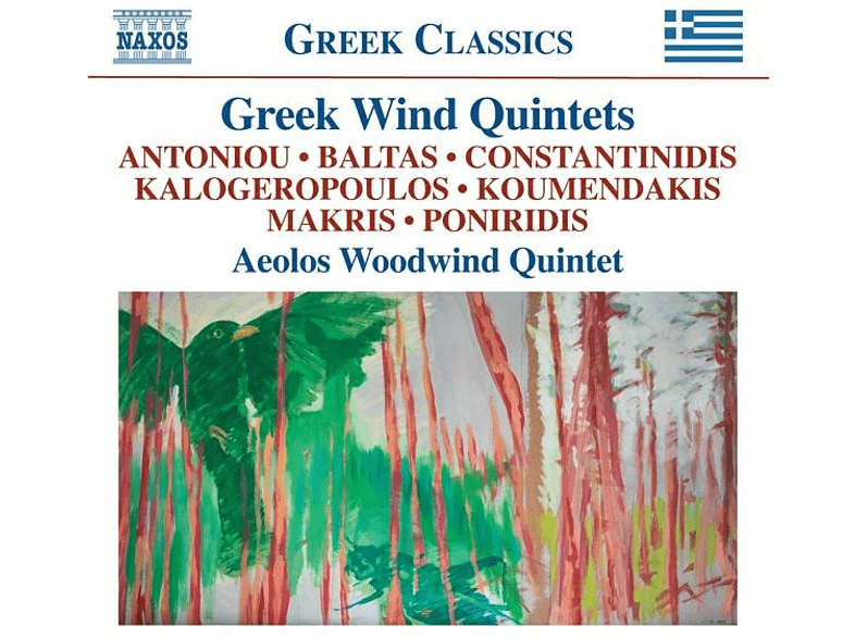 Aeolos Woodwind Quintet - Greek Wind Quintets [CD]