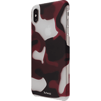 ARTWIZZ CamouflageClip , Apple, iPhone Xs Max, Polycarbonat, Camouflage, Rot