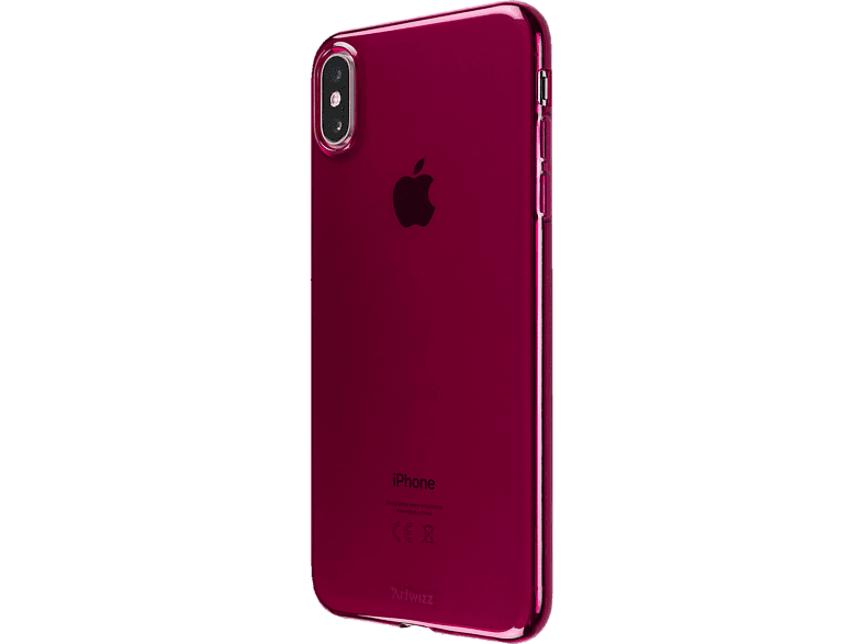 ARTWIZZ NoCase , Backcover, Apple, iPhone Xs Max, Thermoplastisches Polyurethan, Raspberry
