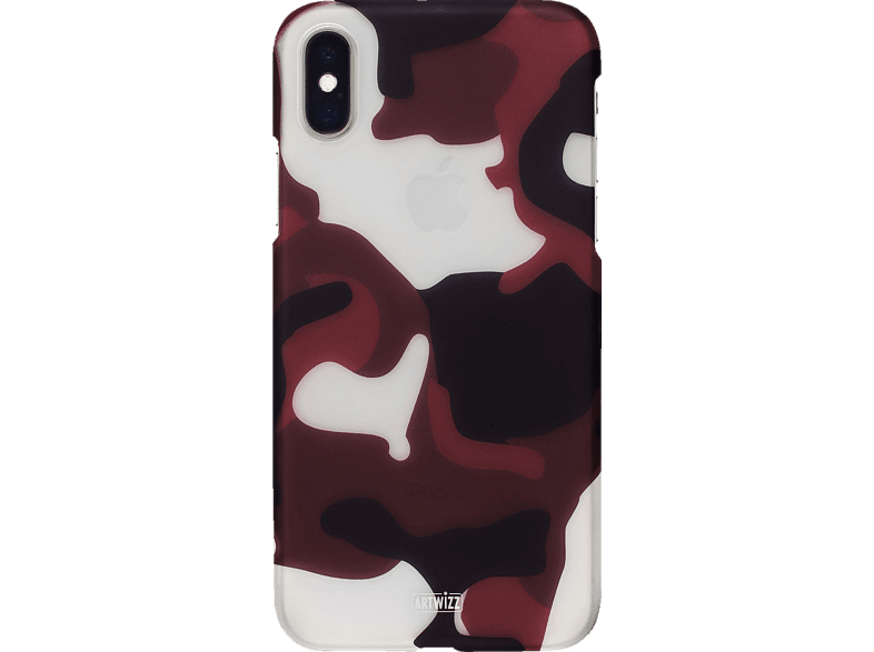 ARTWIZZ CamouflageClip , Backcover, Apple, iPhone Xr, Polycarbonat, Camouflage, Rot