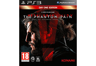 PS3 Metal Gear Solid V: The Phantom Pain - Day One Edition