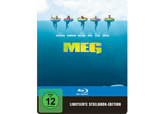 Meg Steelbook Edition Horror Blu-ray