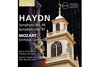 Harry Christophers - Handel And Haydn Society - Sinfonien 49 & 87/Sinfonia concertante [CD]
