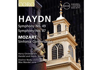 Harry Christophers - Handel And Haydn Society - Sinfonien 49 & 87/Sinfonia concertante - (CD)