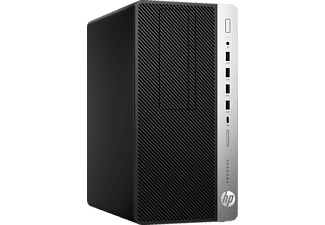 HP ProDesk 600 G4 Microtower-PC Business PC, Schwarz/Silber