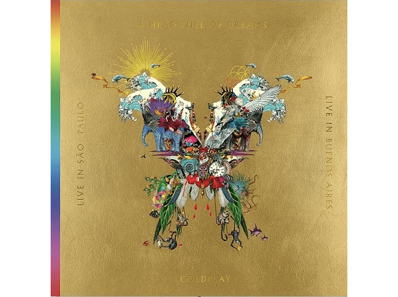 Coldplay - Live In Buenos Aires / Live In São Paulo / A Head Full Of Dreams (Film)  [CD + DVD Video]