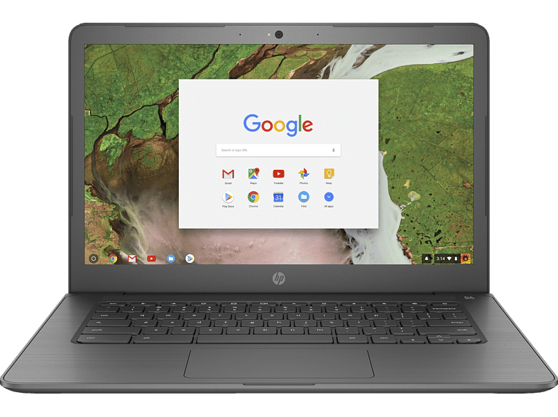 HP Chromebook 14 G5, Chromebook mit 14 Zoll Display, Celeron® Prozessor, 8 GB RAM, 32 GB eMMC, Intel® HD-Grafik 500, Bronze