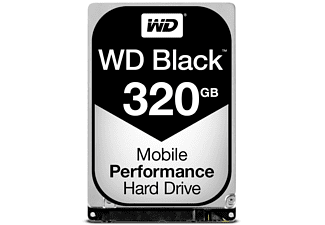 Disco duro interno de 320GB - Western Digital Black, Serial ATA III