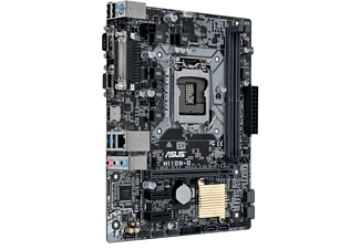 Placa Base - ASUS H110M-D, 5X Protection II, DDR4