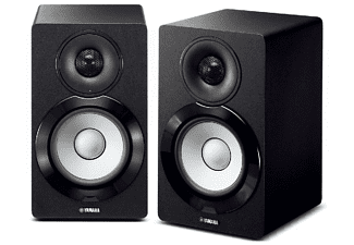 Altavoces multiroom - Yamaha NX-N500, MusicCast, Wi-Fi, Bluetooth, AirPlay, 45W + 45W, Negro