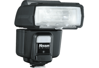 Flash - Nissin i60a, Para Nikon, 60 GN, Wireless 2.4 GHz, Negro