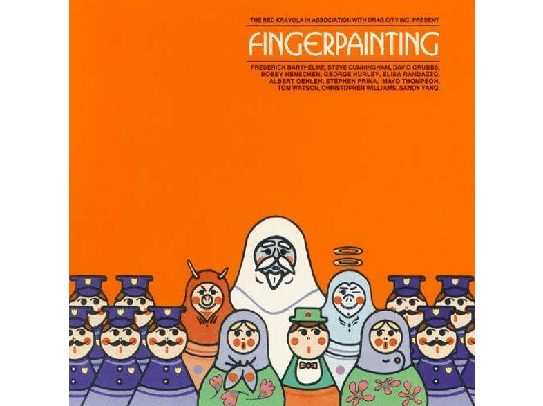 The Red Krayola - Fingerpainting [Vinyl]