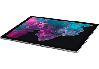 MICROSOFT Surface Pro, Convertible mit 12.3 Zoll Display, Core™ m3 Prozessor, 4 GB RAM, 128 GB SSD, Intel® HD-Grafik 615, Platin