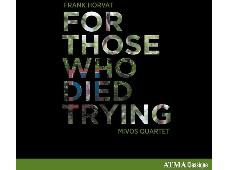 Mivos Quartet - For Those Who Died Trying [CD]